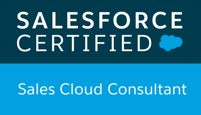 Sales Cloud Consultant Badge